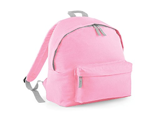 2a714b636 Bagbase Grey LPink Grey JuniorMochila14 light Bagbase Bagbase  JuniorMochila14 LPink light vmNw8n0