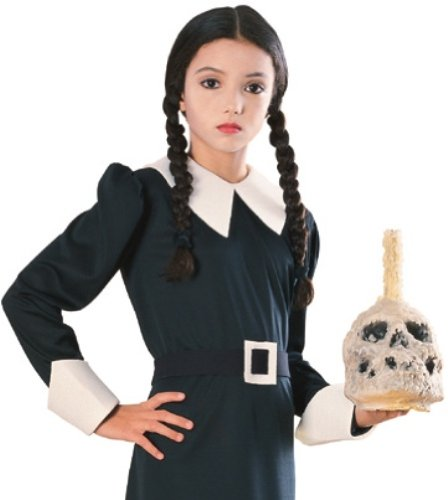[Addams Family Child's Wednesday Wig] (The Addams Family Wednesday Costumes)