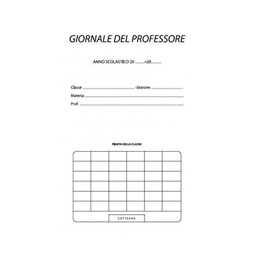 2 opinioni per Registro del professore per 6 classi utile per tutte le scuole 31x17