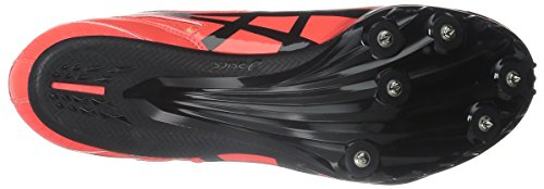 Asics Heren Sonicsprint Track And Field Shoe Flash Koraal / Zwart