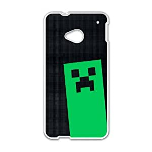 Creeper Htc One M7 Cell Phone Case White DAVID-256822