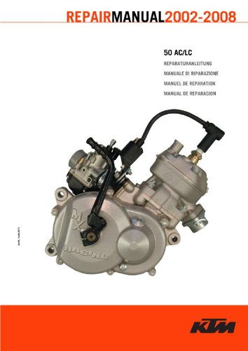 Official 2002 2008 KTM 50 AC LC Repair Manuals KTM EBook