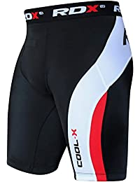 RDX MMA Thermal Compression Shorts Boxing Base Layer Fitness Running Exercise
