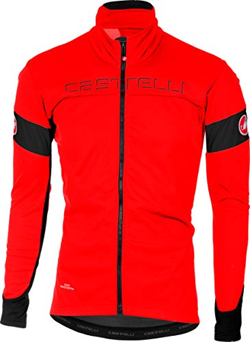 Castelli Transition Jacket - Men's Red/Black, M ()