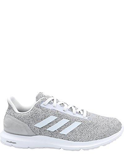 adidas Men's Cosmic 2 Running Shoe, Crystal White/White/Grey, 11 M US ()