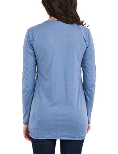 Altromercato ATRM-30050172, Cárdigan Para Mujer Azul (Bluebell)