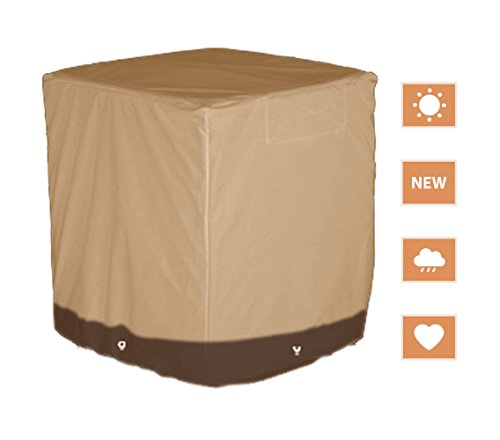 Heavy Duty Waterproof Protection Square Patio Air Conditioner Cover (86x86x76cm YS39P)