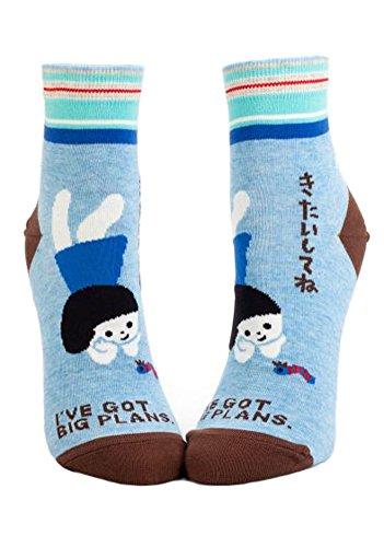 Blue Q Ankle Socks, I've got big plans
