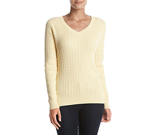 Studio Works Baby Cable Knit Sweater Sunlight X Large