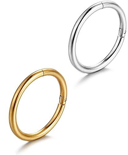 FIBO STEEL Stainless Piercing Earring