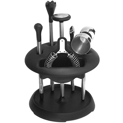 Rabbit 6-Piece Bar Tool Set with Caddy from Rabbit