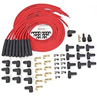 JEGS Performance Products 40200 8.0mm Red Hot Powr Wires