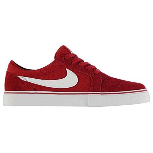 Nike SB Satire II, Sneaker uomo rosso Red/White