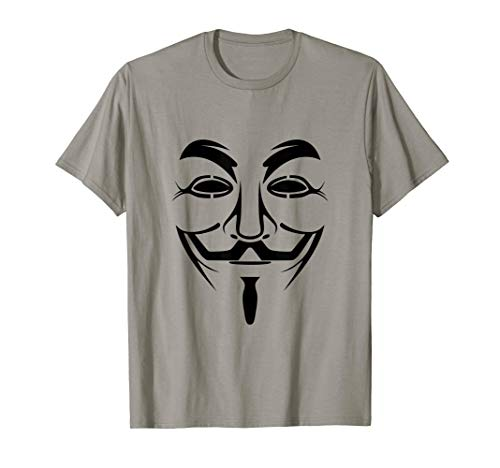 Guy Halloween Ideas (Guy Anonymous Fawkes Mask Shirt Halloween Gift)