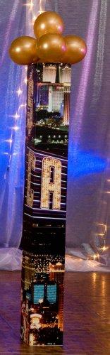 CASINO COLUMN - Town Pictures Vegas Las Square