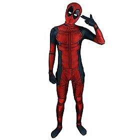 - 41xK1Q3ZiSL - AOVEI Kids Onesie Spandex Mask Cosplay 3D Costume Party Movies Halloween Bodysuits