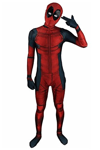 AOVEI Kids Cosplay 3D Costume Super Hero costumes costume Onesie Spandex Zentai Suit Full Bodysuit,L (Kids Superhero Belt)