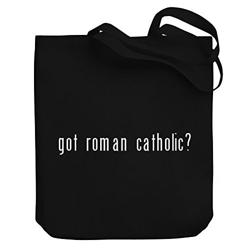 Valentine Herty Shopping bag Got Roman Catholic? Canvas Tote Bag by WenNuNa