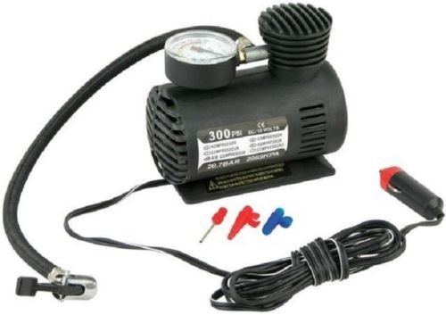 NEW Portable Mini Air Compressor Electric Tire Infaltor Pump 12 Volt Car 12V - Shopping Near Dc Outlets