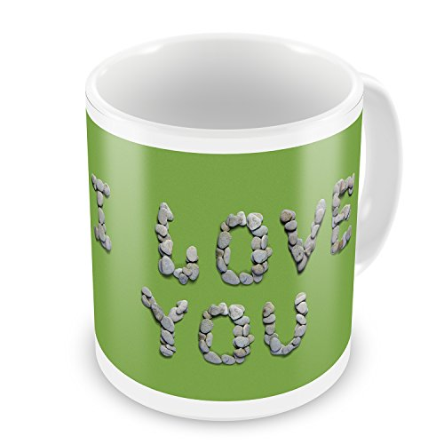 Coffee Mug I Love You Spa Stones - NEONBLOND by NEONBLOND (Image #1)