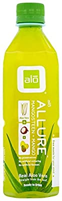 ALO Aloe Vera Drink, 16.9-Ounce Bottles (Pack of 12)