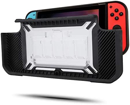 Wendry Console Protective Shell,Anti-Scratch Shock Absorption Protective Shell Case Cover with Handle Grips for Switch Console