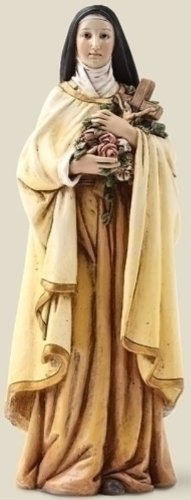 Religious Gifts 6 Inch Saint Therese Theresa Statue Little Flower Catholic Gift -