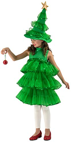 Princess Paradise Glitter Christmas Tree Costume