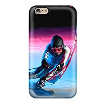 Hot Style KPfqmmZ19406sKlpo Protective Case Cover For Iphone6(sochi 2014 Olympic Downhill Skiing Iphone 5)