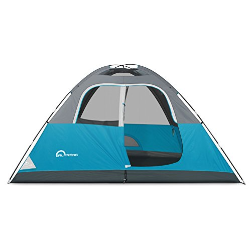 Alprang C&ing Tent-6 Person Dome TentPortable Foldable Waterproof Outdoor Festival C&ing Dome Tent Kit (10u2032 x9u2032)  sc 1 st  Trek-O-Hike & Alprang Camping Tent-6 Person Dome TentPortable Foldable ...