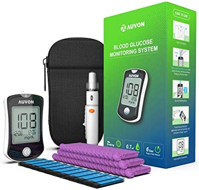 AUVON Required High Tech Diabetes Glucose product image