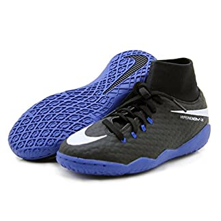 Nike Jr. Hypervenomx Phelon III Dynamic Fit (IC) Indoor Soccer Shoes