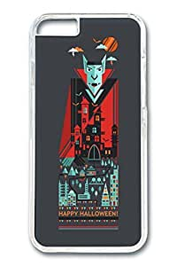 iPhone 6 Case, Halloween 10 Custom Hard PC Clear Case Cover Protector for New iPhone 6 4.7inch