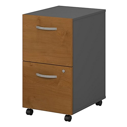 Series C 2 Drawer Mobile File Cabinet in Hansen Cherry by Bush Business Furniture