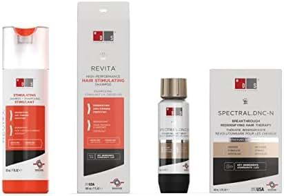 Revita Shampoo w/Biotin, Caffeine and Hair Growth Stimulating Ingredients, Helps Block DHT w/DNC-N Nanoxidil 5% Hair Regrowth Treatment