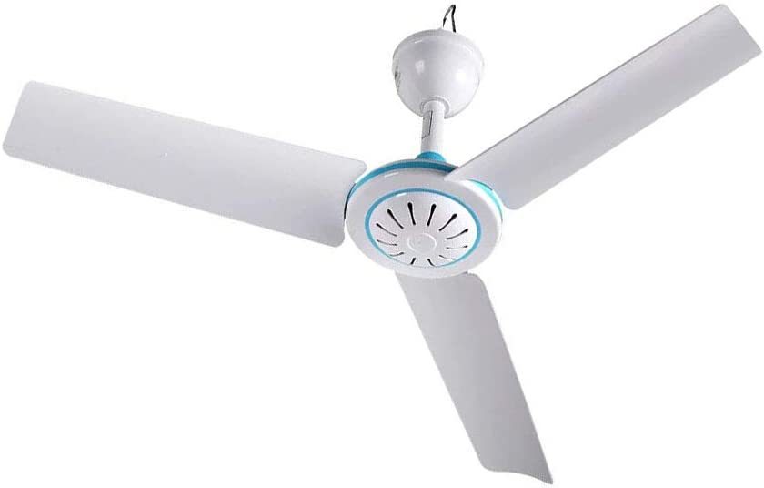 """12V DC 19.7"""" inch Ceiling Fan With Switch Outdoor Camping fan For 12V Battery Power"""