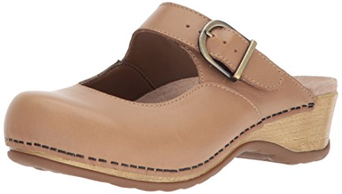 Dansko Women's Martina Mule, Sand Full Grain, 42 M EU (11.5-12 US)