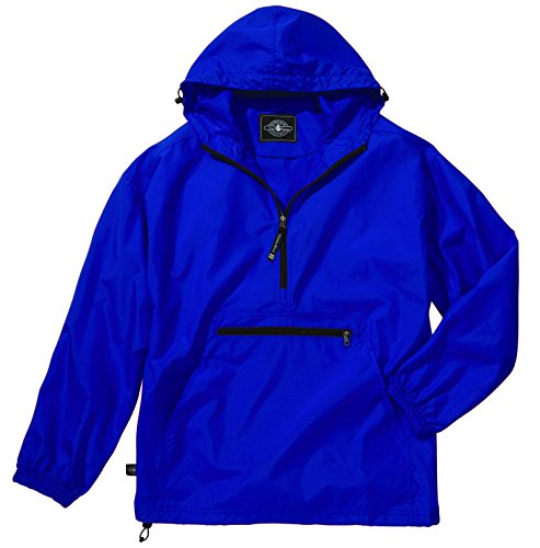 - Women's Ultra Light Pack-N-Go Pullover - Royal Blue, Small