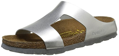 Silver Argent Mujer Mules Papillio metallic Charlize Plateado Para xwUanp4q0