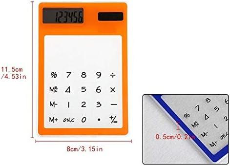LCD-Touchscreen Lsgepavilion Mini-Taschenrechner solarbetrieben transparent multi