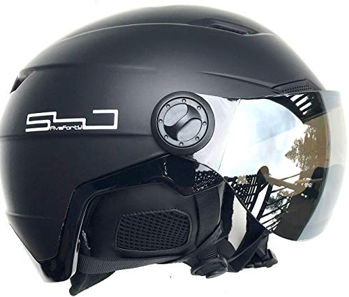 29a75a751bf6 SnowJam Five Forty Poseidon Helmet Adjustable Built in Goggles (x-Large)