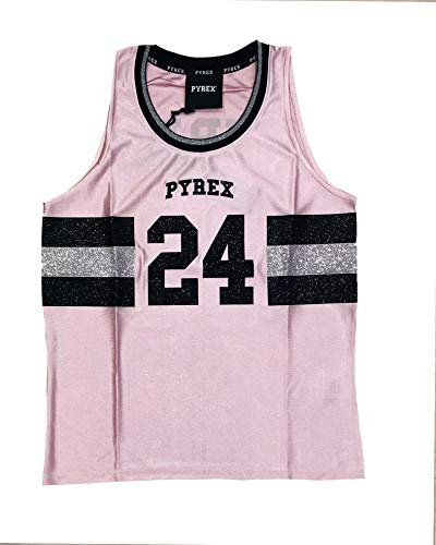 Mangas Sin Rosa Para Pyrex Mujer Camiseta fCzPqP