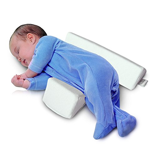 Baby Wishes Infant Sleep Pillow Adjustable Memory Foam Support Wedge