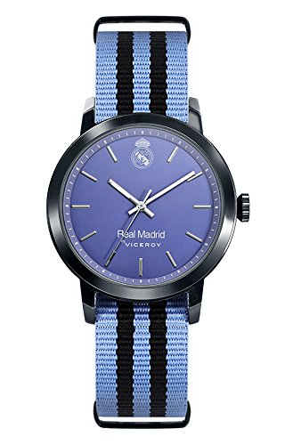 Real Madrid Watch Viceroy 40966-39 Textile Blue Boy