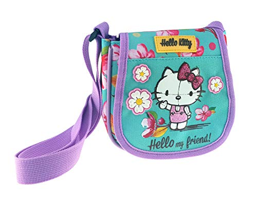 Mint Hello Rose 15 Bandoulière Kitty Sac Cm nUwUTZqY