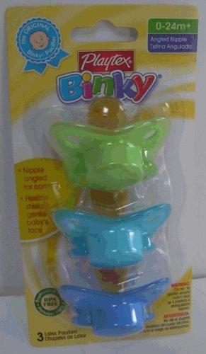 Amazon.com: Playtex Binky Latex chupetes 0 – 24 mo +: Baby