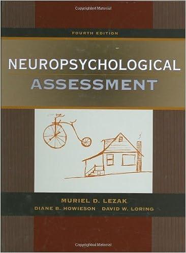 Neuropsychological Assessment 9780195111217 Medicine Health Science Books Amazon Com