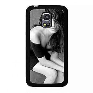 Cover for Samsung Galaxy S5 Mini Angelina Jolie Caja del teléfono celular Fundas Famous Hollywood Actress Samsung Galaxy S5 Mini Phone Caja del teléfono celular Funda