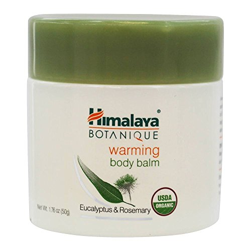 (Himalaya Organic Warming Body Balm with Eucalyptus, Rosemary and Coconut Oil for Muscle and Joint Pain Relief 1.76 oz (50 g))