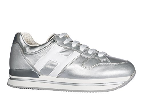 Hogan Women's HXW2220T548I8G0906 Trainers Silver Silver discount purchase free shipping ebay 5I3Y3